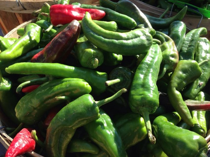 Chile peppers are a favorite ingredient in Northern New Mexico cuisine. Photo courtesy of Santa Fe School of Cooking.